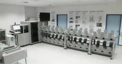 Plate Automation for Newspaper Printing