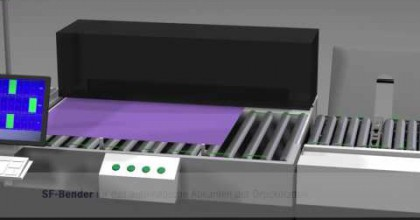 Non-stop Druckplattenproduktion